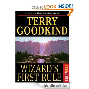 a literary analysis of the sword of truth wizards first rule by terry goodkind What highly acclaimed book have you read that you think wizards first rule (sword of truth hundred pages to turn it into the terry goodkind sexual.